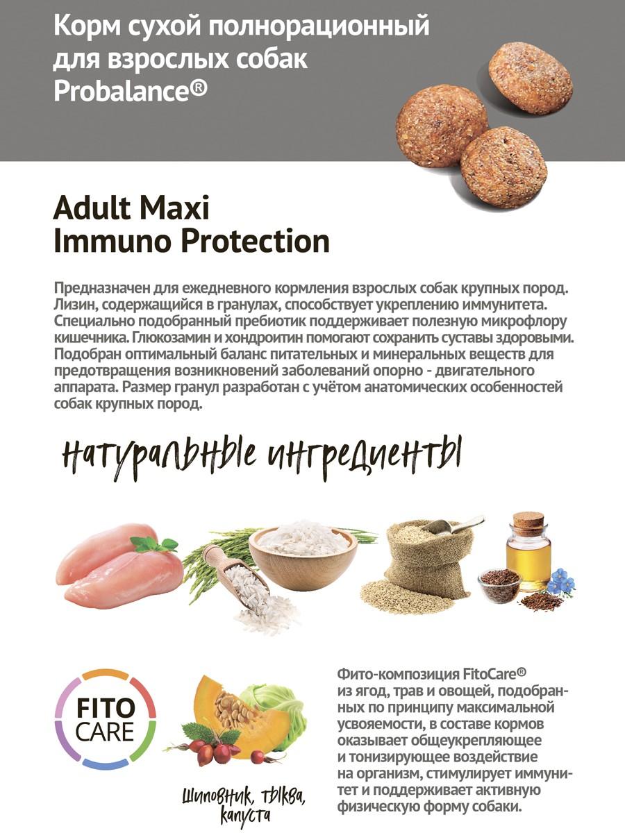 Probalance Immuno Adult Maxi, защита иммунитета